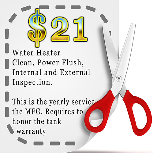 Cheap water heater maintenance